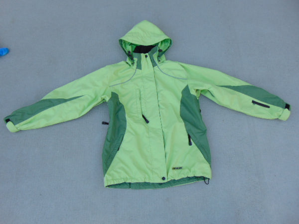 Rain Coat Ladies Size Small Viking Creek Size Apple Green