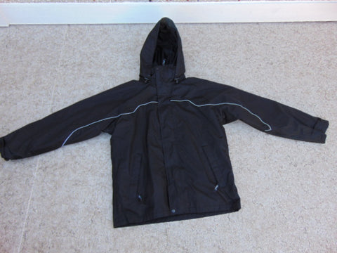 Rain Coat Men's Size Medium Fleece Lined Zipped Inside As New