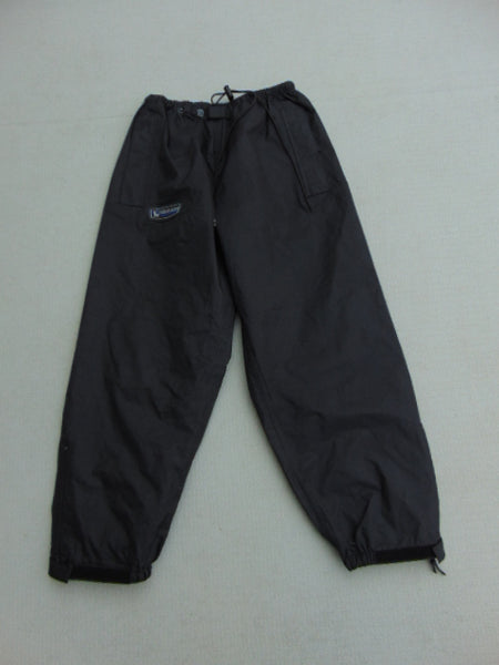 Rain Pants Child Size 14 Wetskins Black