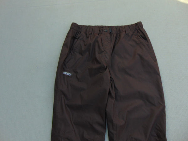 Rain Pants Ladies Size X Large Wetskins Brown Excellent
