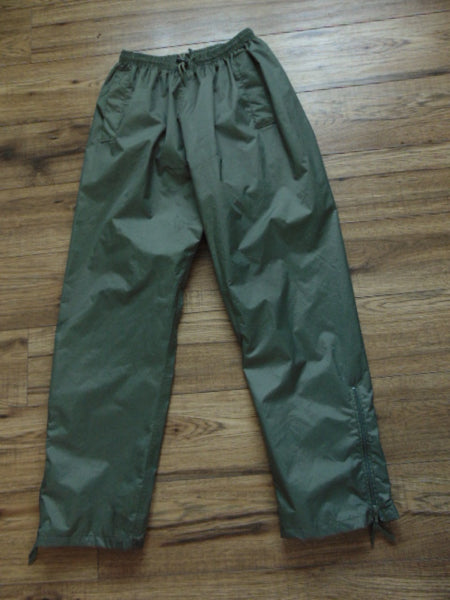 Rain Pants Men's Size Small Wetskins Tan Waterproof