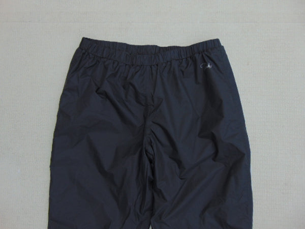 Rain Pants Men's Size X Large Paradox Black New Demo Model