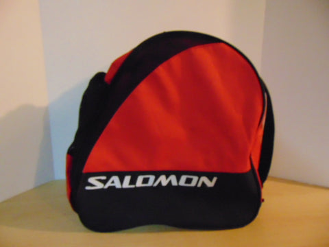 Ski Boot Bag Adult Size Salomon Red Black Excellent