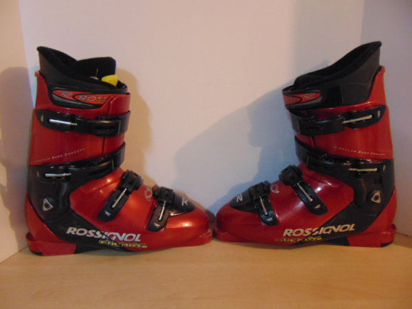 Ski Boots Mondo Size 29.5 Men's size 11.5  333 mm  Rossignol Energy Red Black