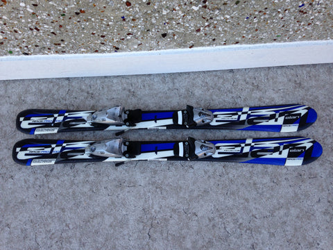 Ski 100 Elan Race Pro Blue Black Parabolic With Bindings