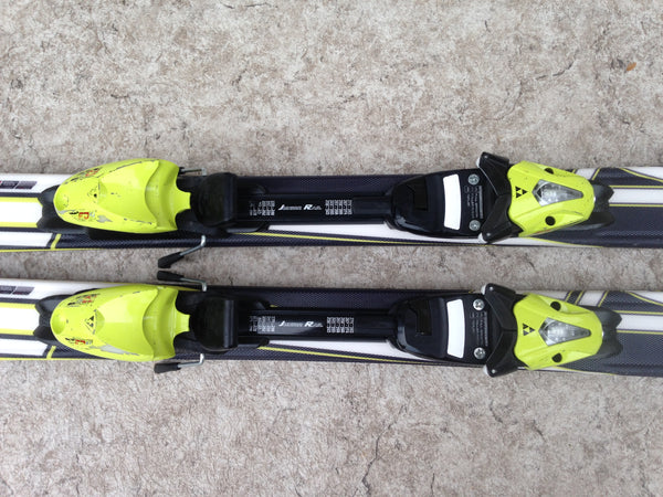 Ski 120 Fischer Race Parabolic Red Black Lime With Bindings