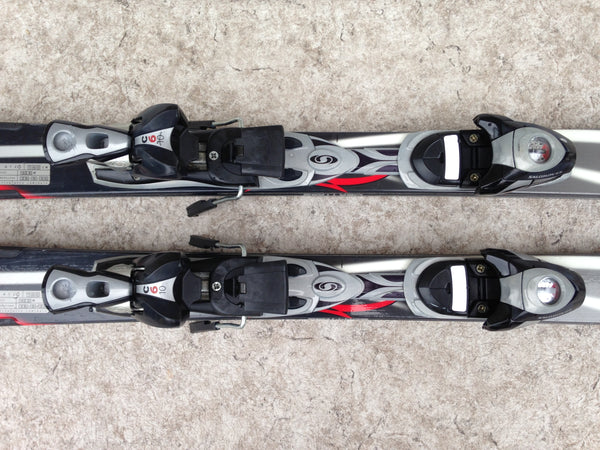 Ski 160 Scott Air Parabolic Black Red Grey With Bindings Excellent