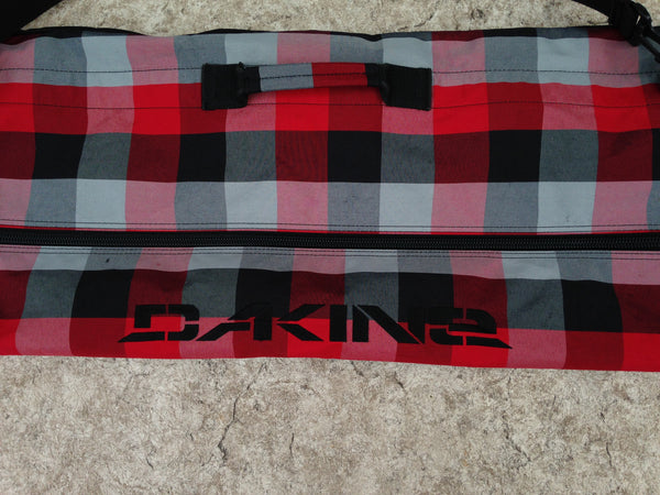Ski Bag Adult Size Dakine Fits Up To 180 cm Fantastic Quality Black Grey Red