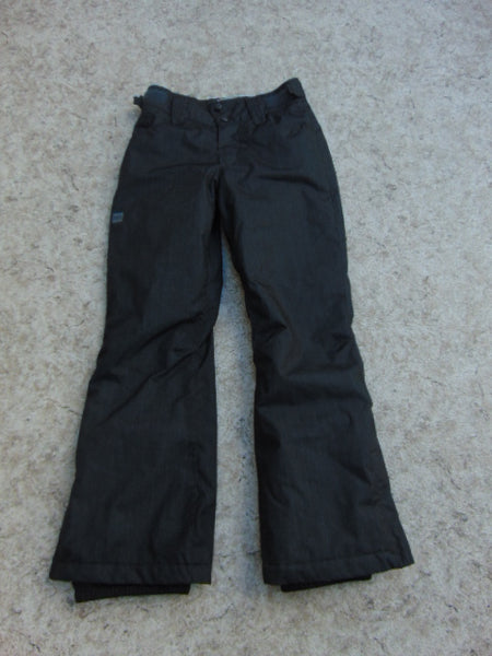 Snow Pants Child Size 10 MEC Black Grey Snowboarding Excellent