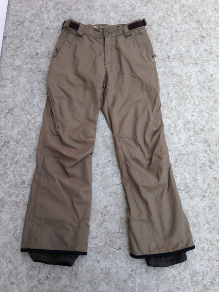 Snow Pants Men's Size Small Orage Tan Snowboarding Minor Wear