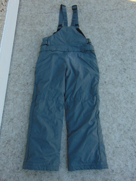 Snow Pants Child Size 14-16 Columbia Grey With Bib Snowboarding New Demo Model