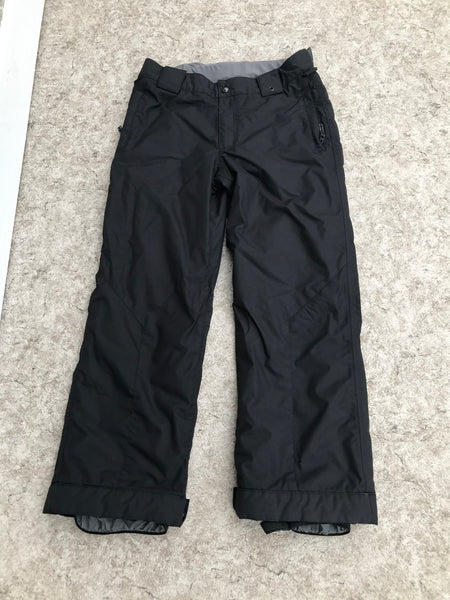 Snow Pants Child Size 14-16 Burton Snowboarding Black Excellent