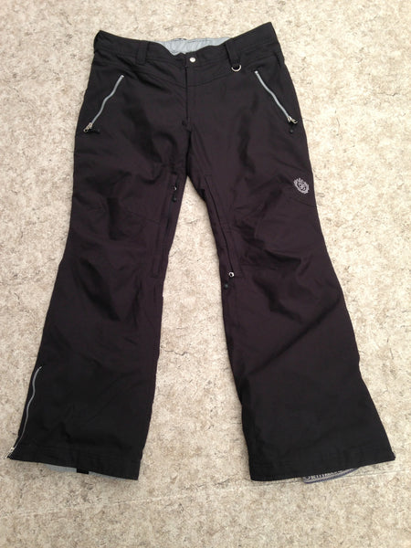 Snow Pants Ladies Size X Large Betty Rides Black Snowboarding New Demo Model