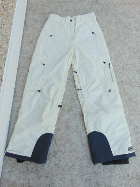 Snow Pants Ladies Size Medium Firefly White Chocolate Snowboarding New Demo Model