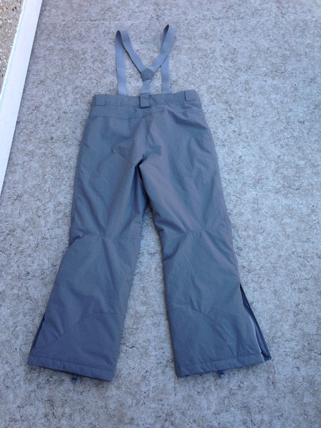 Snow Pants Men's Size Large Mole Snowboarding With Removeable Straps Adjustable Waist Grey New Demo Model