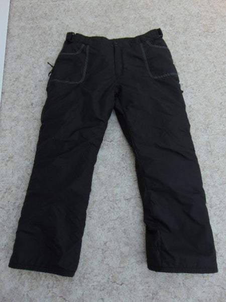 Snow Pants Men's Size XX Large Black Snowboarding