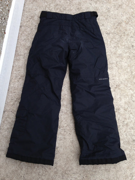 Snow Pants Child Size 14-16 Youth Columbia Black Snowboarding Excellent