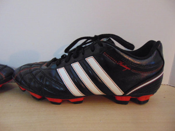 Soccer Shoes Cleats Men's Size 7.5 Adidas Heritage Black White Red
