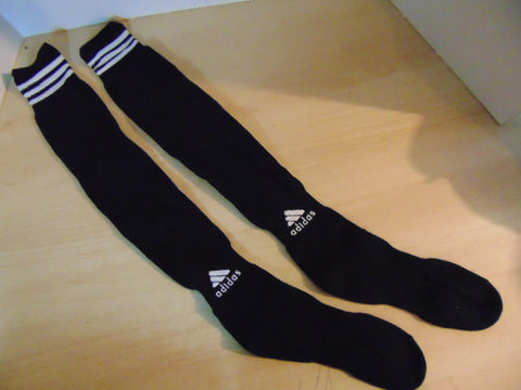 Soccer Socks Men's Size Large Adidas Black White New Without Package