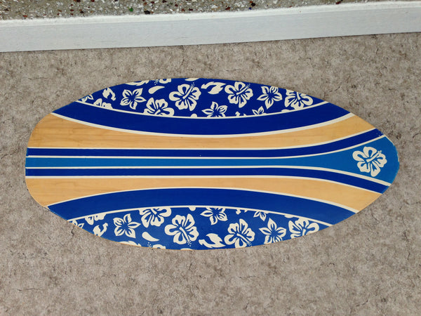 Surf Skim Board  Blue Hawaii Wood Fantastic Quality 42 x 20 inch