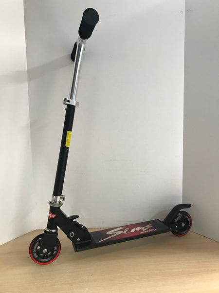 Scooter Child Size Adjustable Sims Metal With Rubber Tires Excellent