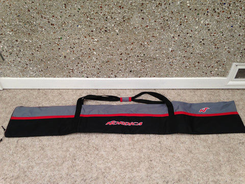 Ski Bag Nordica Fits Up To 182 cm Black Grey Red
