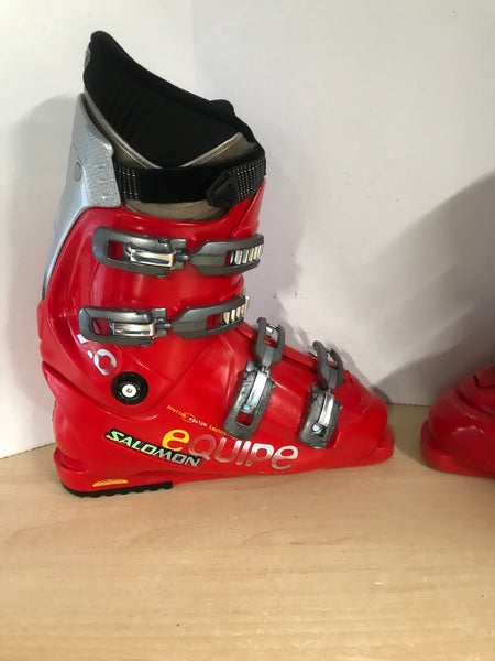 Ski Boots Mondo Size 28.5 Men's 10.5 326 mm Salomon Black Red