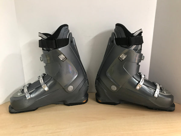 Ski Boots Mondo Size 29.0 Mens Size 11 333 mm Grey Black Excellent
