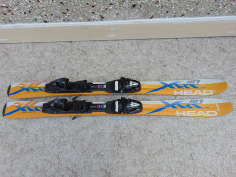 Ski 110 Head XR Racing Parabolic Gold White Blue With Bindings