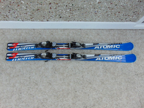 Ski 150 Atomic Parabolic Blue White With Bindings As New