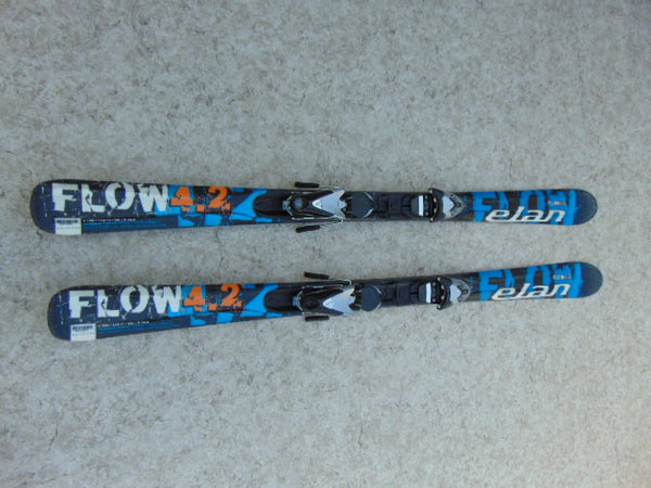 Ski 152 Elan Flow Parabolic Blue Black With Bindings
