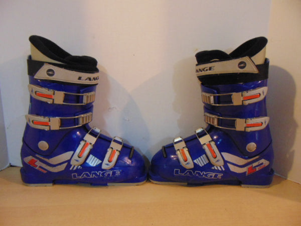 Ski Boots Mondo Size 23.5 Men's Size 5 Ladies Size 6 275 mm Lang Blue Red