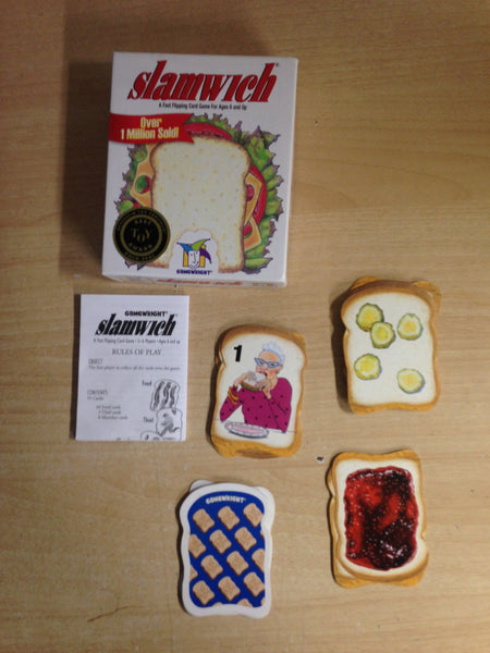 Slamwich Fast Flipping Card Game For Ages 6 and Up