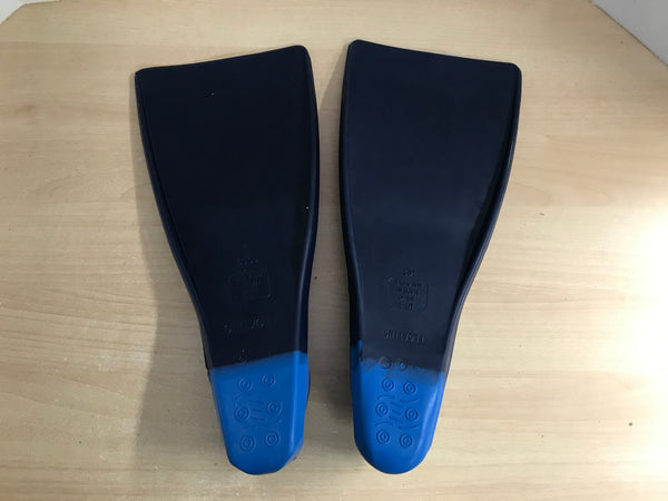 Snorkel Dive Fins Ladies Size 9-10 Shoe Sporti Blue Excellent