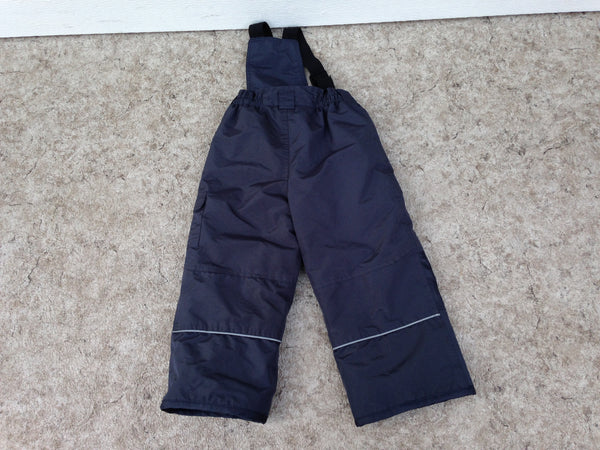 Snow Pants Child Size 3 X Navy With Removeable Straps Excellent
