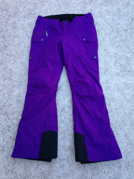 Snow Pants Ladies Medium Marmot Outstanding Quality Purple Snowboarding Adjustable Waist New Demo Model