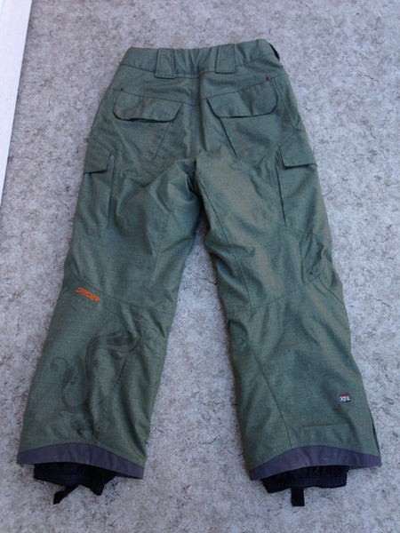 Snow Pants Men's Size Small Snowboarding Snowmobile Sage Green New Demo Model