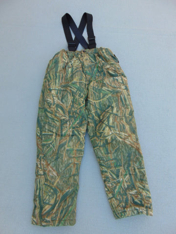 Snow Pants Child Size 10-12 Browning Gor-Tex Waterproof Hunting Print With Straps