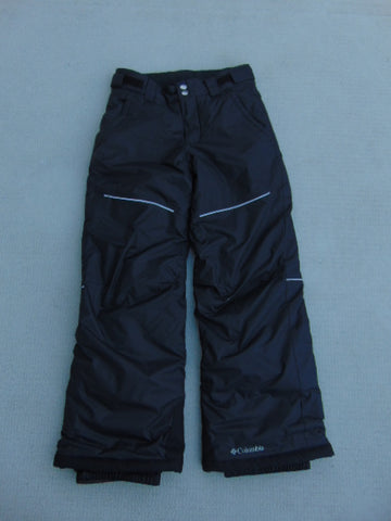 Snow Pants Child Size 10-12 Columbia Black Snowboarding  New Demo Model