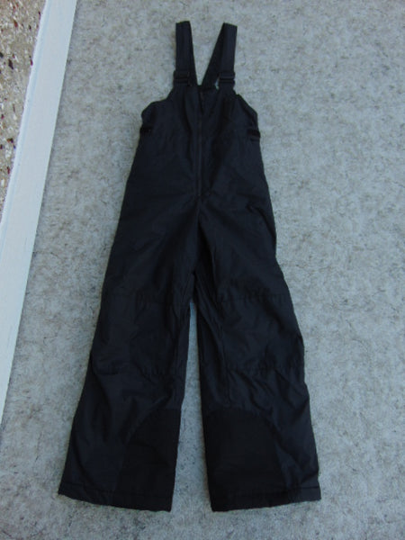 Snow Pants Child Size 10-12 Columbia Black With Bib Snowboarding New Demo Model