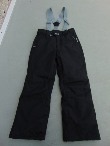Snow Pants Child Size 10-12 Firefly Black With Straps New Demo Model
