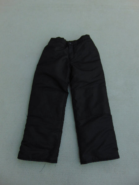 Snow Pants Child Size 10-12 Joe Fresh Black New Demo Model