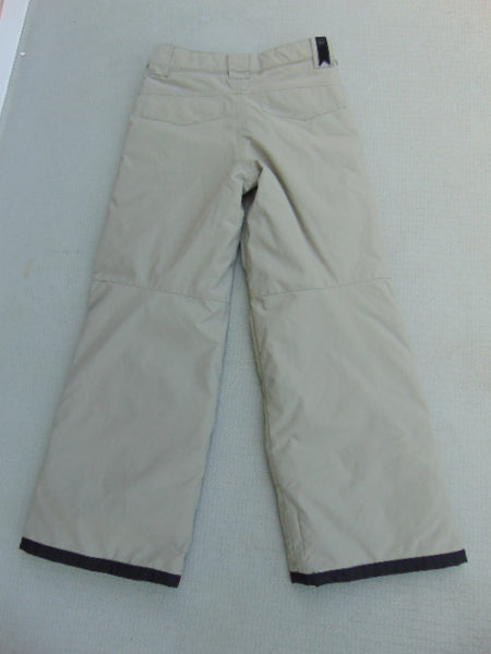 Snow Pants Child Size 10 Orage Tan Snowboarding New Demo Model