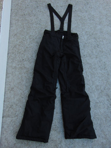 Snow Pants Child Size 12-14 Rossignol With Straps Black New Demo Model