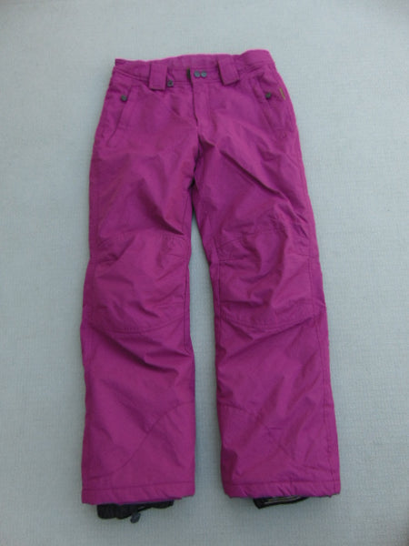 Snow Pants Child Size 12-14 Youth Gravity Fushia With Adjustable Waist Snowboarding