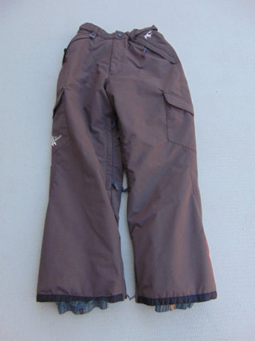 Snow Pants Child Size 12 O'Neill Brown Mint Fantastic Quality