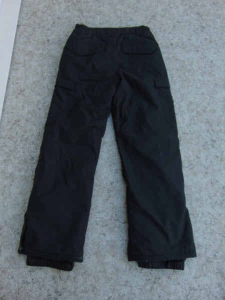 Snow Pants Child Size 14-16 Youth Quick Silver Black Snowboarding