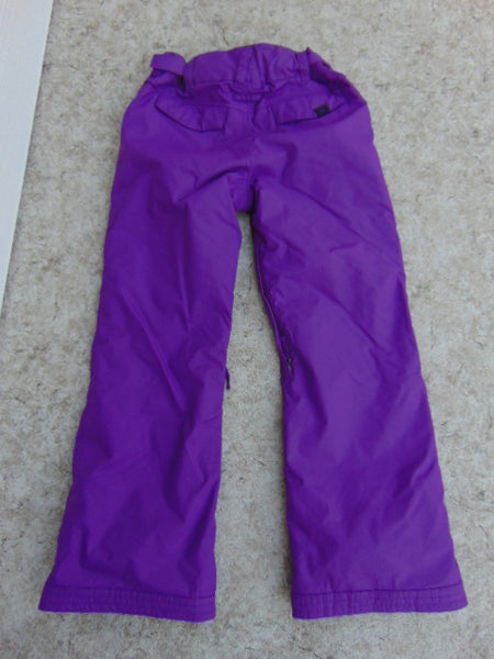 Snow Pants Child Size 14 Youth Roxy Purple Snowboarding New Demo Model