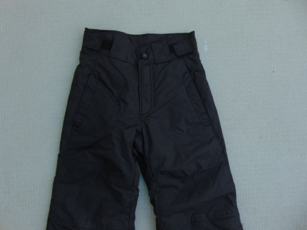 Snow Pants Child Size 4-5 Columbia Omni Shield Snowboarding Black New Demo Model