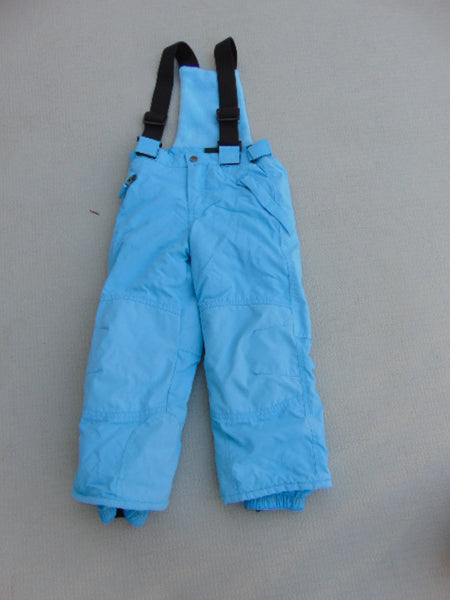 Snow Pants Child Size 4 Children's Place Blue With Removeable Straps Aqual Blue